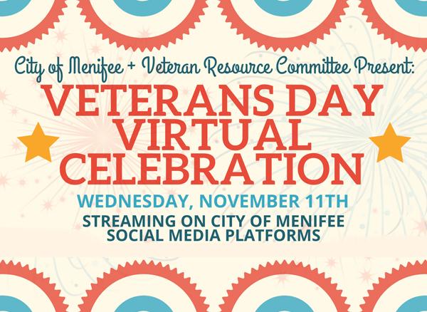 Veteran's Day Virtual Celebration