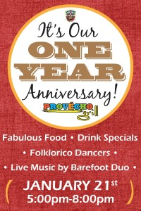 Provecho Grill Menifee Mexican Restaurant One Year Anniversary