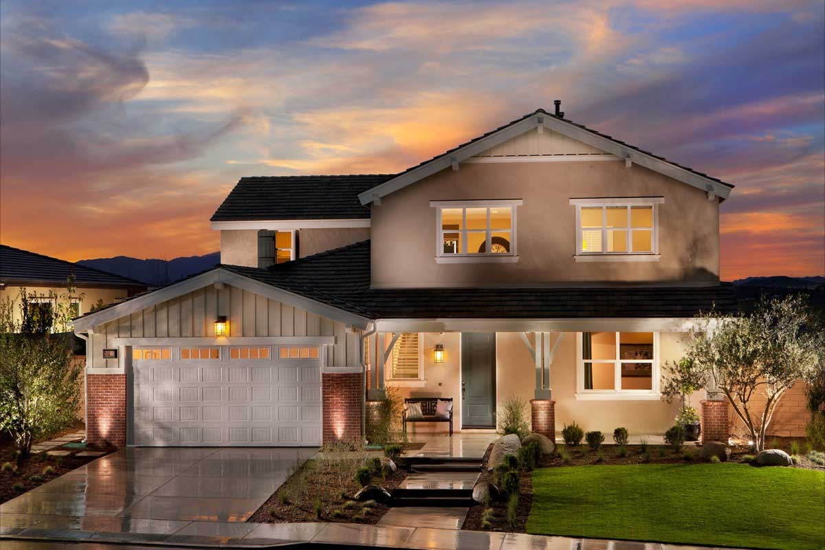 New homes in menifee audie murphy ranch for New house big