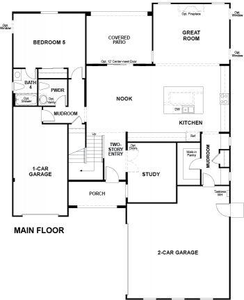 Valor Floor plan Residence Daley First Floor