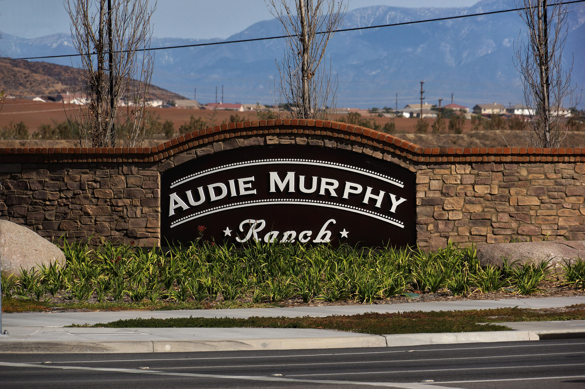 Audie Murphy Ranch Enterance